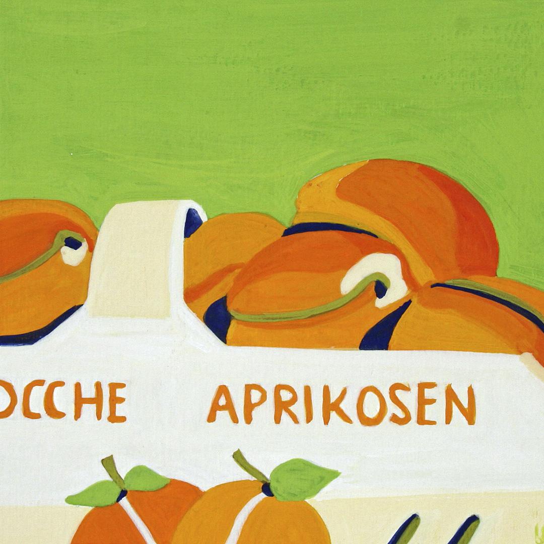 Schale mit Aprikosen