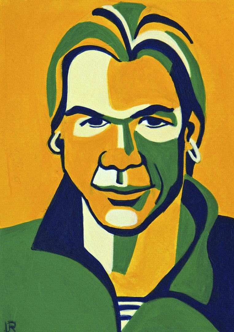 Porträt von Boris