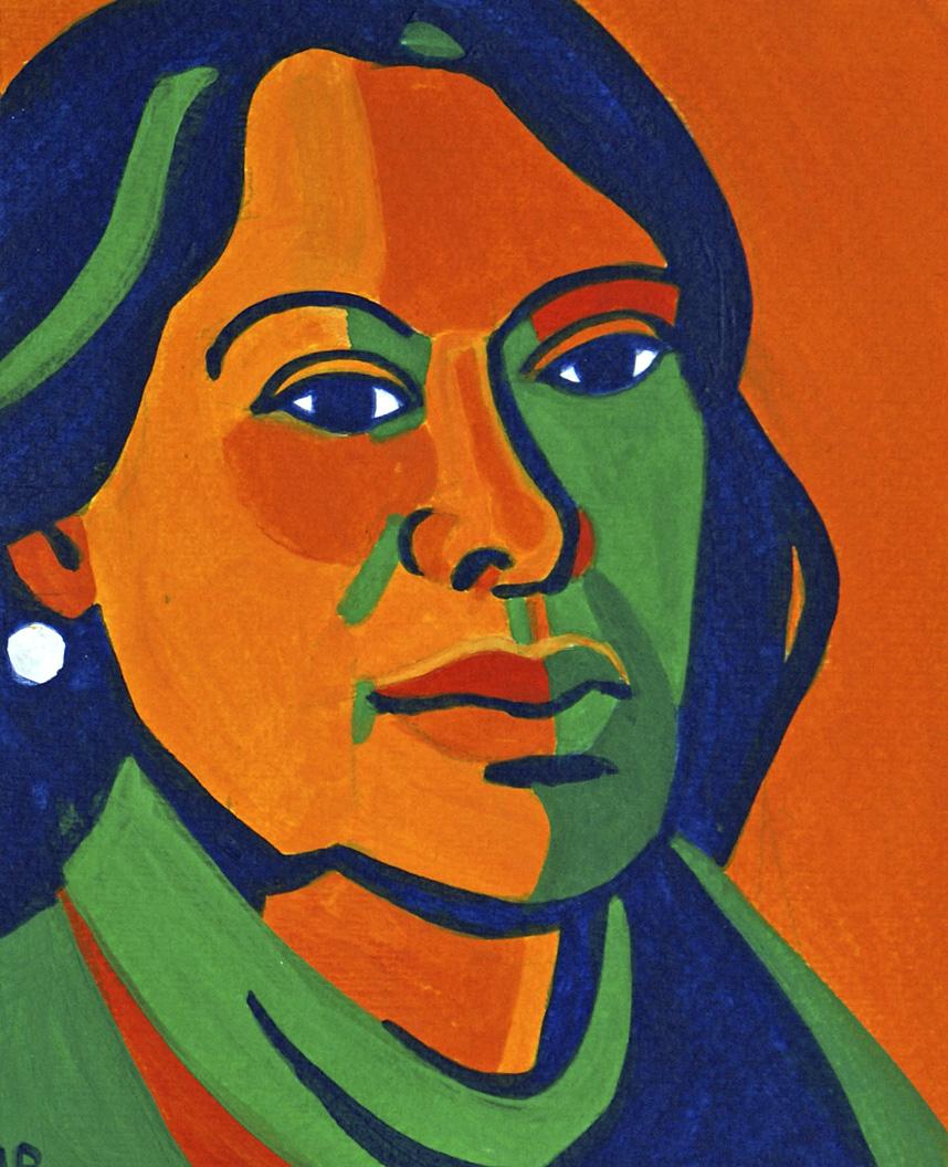 Porträt von Nora