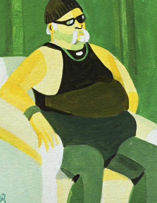 Porträt von Rolf