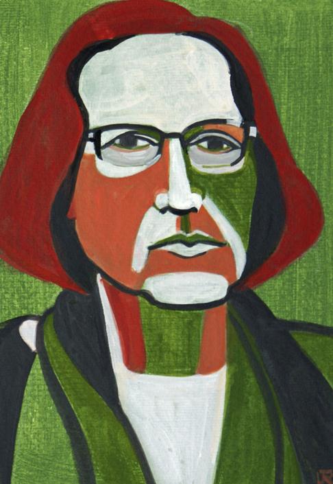 Porträt von Ruth