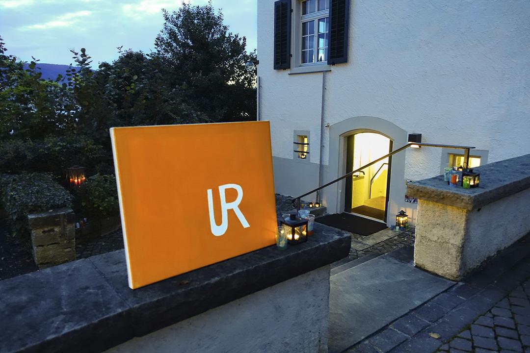 Eingang zum Ref. Pfarrhauskeller in Stäfa