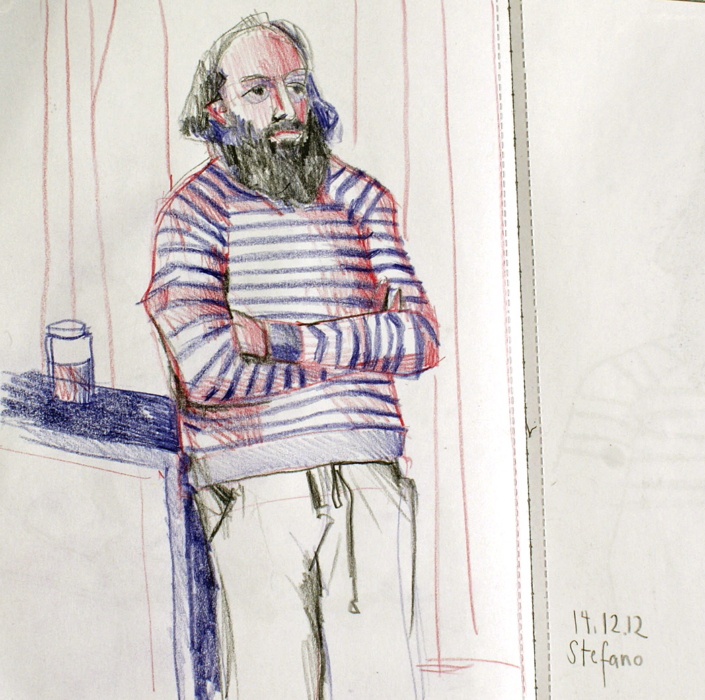 Porträt von Stefano
