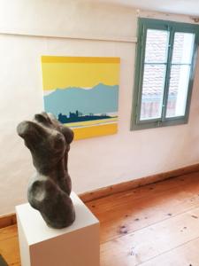 Ausstellung Stricklerhuus